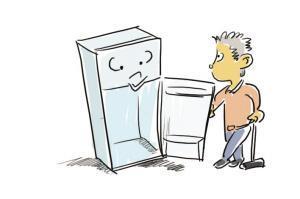 常见故障冰箱出水的原因以及怎么解决的方法