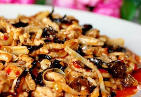 家常美食―鱼香肉丝