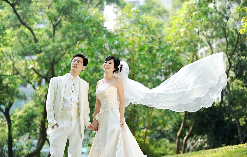 教你如何在婚纱摄影中找到属于自己的焦点!