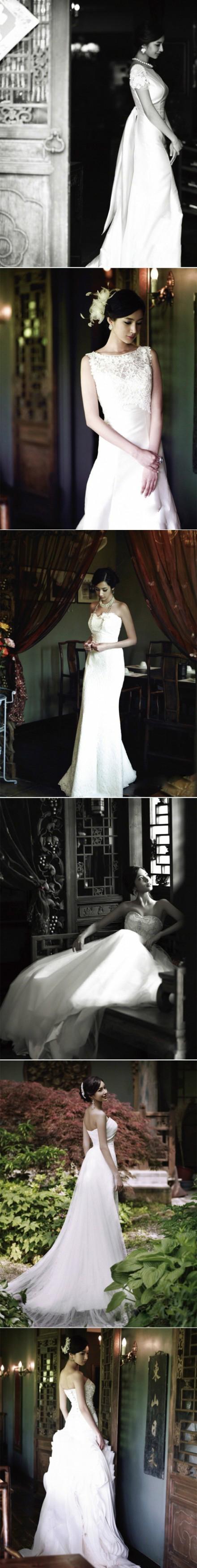 中国婚纱中的高贵典雅