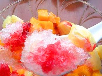 夏日冷饮怎么做之自制刨冰