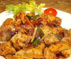 四川家常菜红油鸡块的做法
