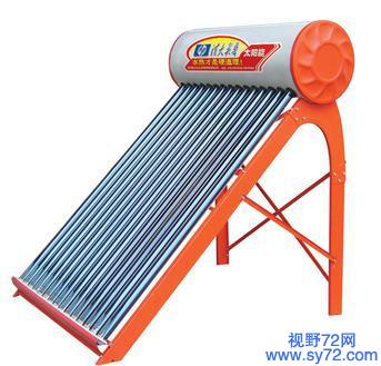太阳能热水器不上水是什么原因?