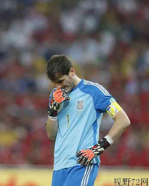 巴西世界杯西班牙对智利